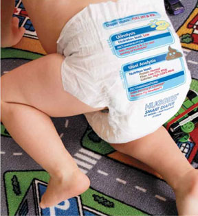 WIRED Magazine Artifact from the Future: Smart Diaper