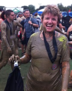 Laura after the Spartan Sprint